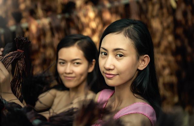 สาวไทย ยิ้มได้เสมอ