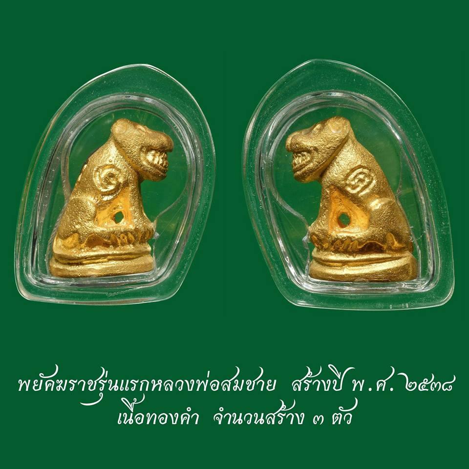เสือ รุ่น 1 หลวงพ่อสมชาย วัดปริวาส