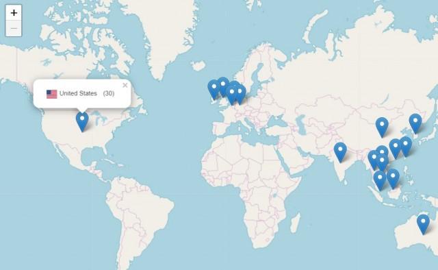 ผู้เยี่ยมชมเว็บไซต์ พระคุ้มครอง จากทั่วโลก