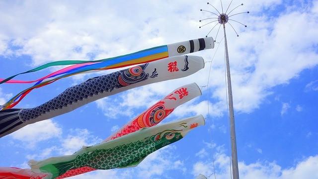 ธงปลาตะเพียน ญี่ปุ่น (ปลาคาร์ฟ)