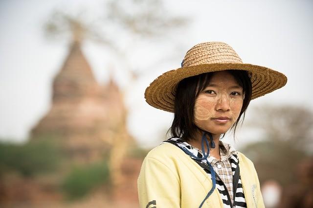 สาวสวย พม่า