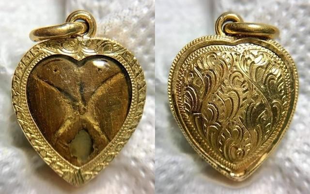 นกสาริกา หลวงปู่ทิม เก่า ถึงยุค เลี่ยมทอง วินเทจ